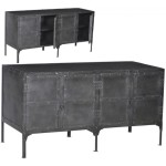 Metal Sideboard Buffet