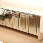 Mirrored Buffet Cabinet