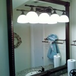 Oil Rubbed Bronze Bathroom Mirror