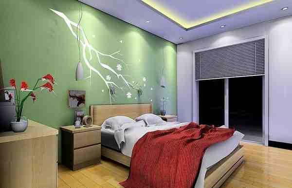 Pale Green Bedroom