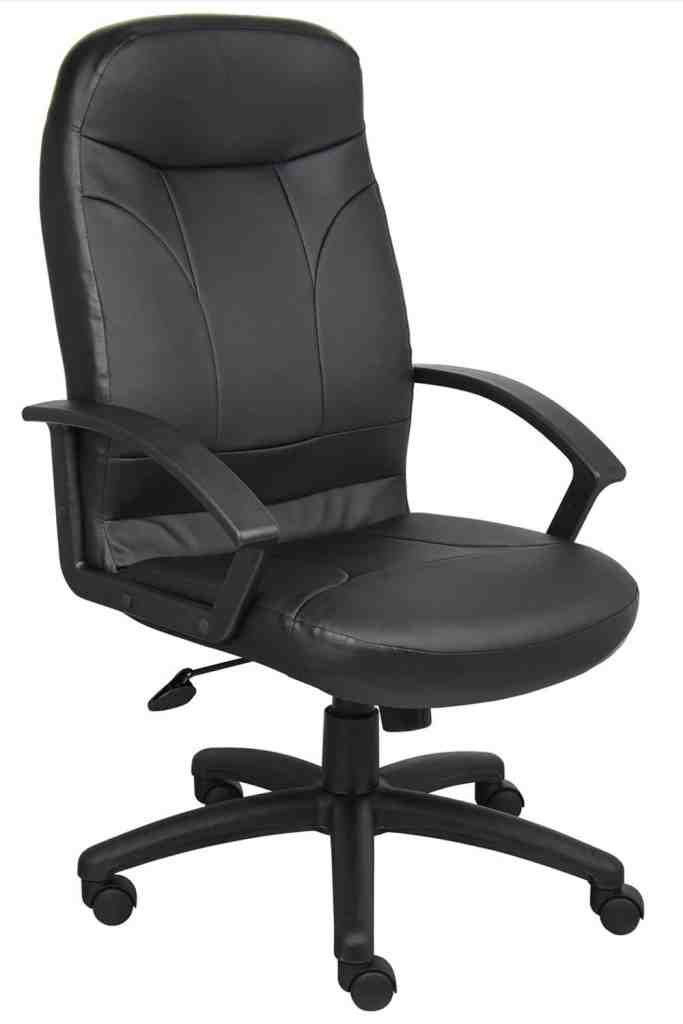 Real Leather Office Chair