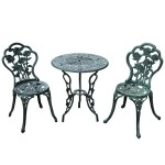 3 Piece Patio Furniture Set