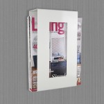 Bathroom Magazine Rack Wall Mount