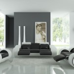 Black and White Living Room Sets