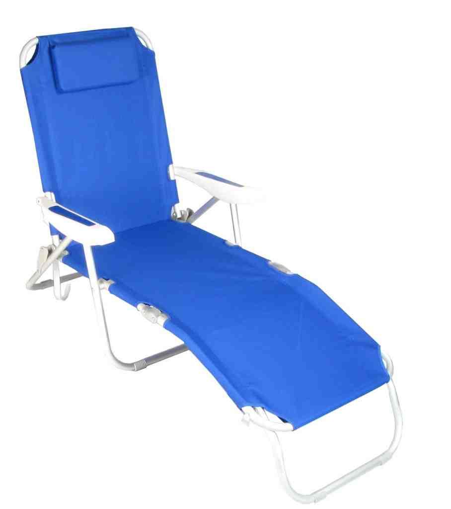 Folding Beach Chaise Lounge Chairs