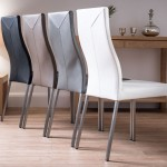 Genuine Leather Dining Chairs