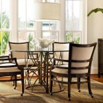 Kitchen Table and Chairs with Casters