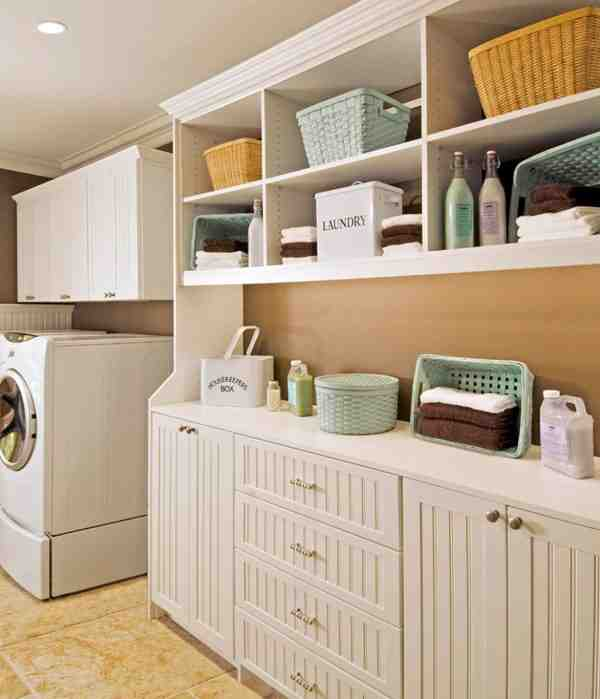 Laundry Room Storage Systems