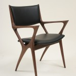 Leather Dining Arm Chair