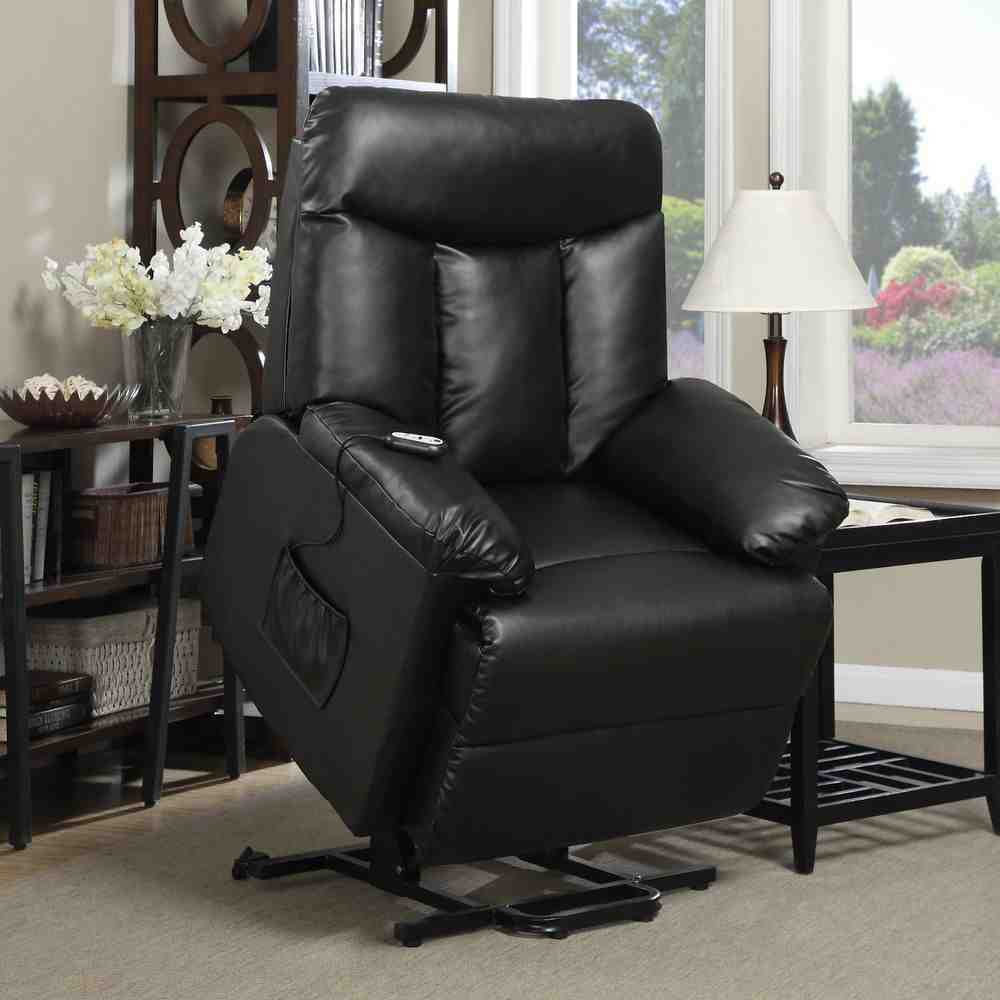 Leather Power Lift Chairs