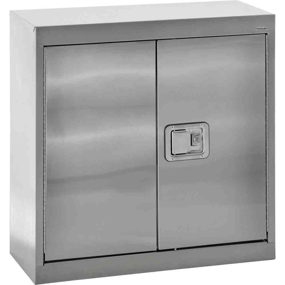 Locking Metal Storage Cabinet
