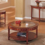 Round Coffee And End Tables