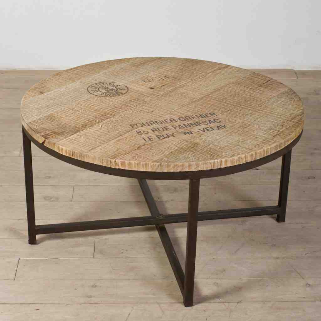 Round Coffee Table And End Tables