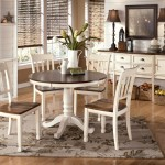 Round Kitchen Table and Chair Sets