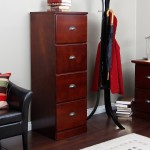 Cherry File Cabinet 2 Drawer