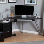Corner Computer Desk With Storage