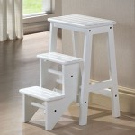 Cosco Retro Chair With Step Stool