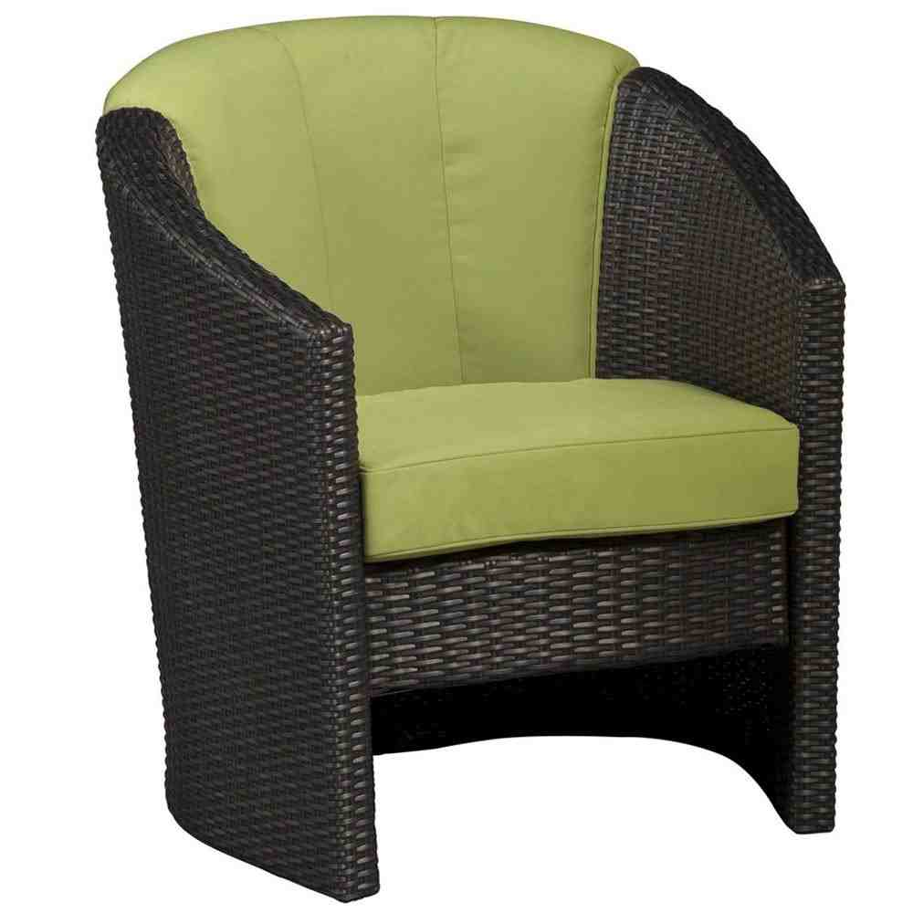 Green Accent Chair