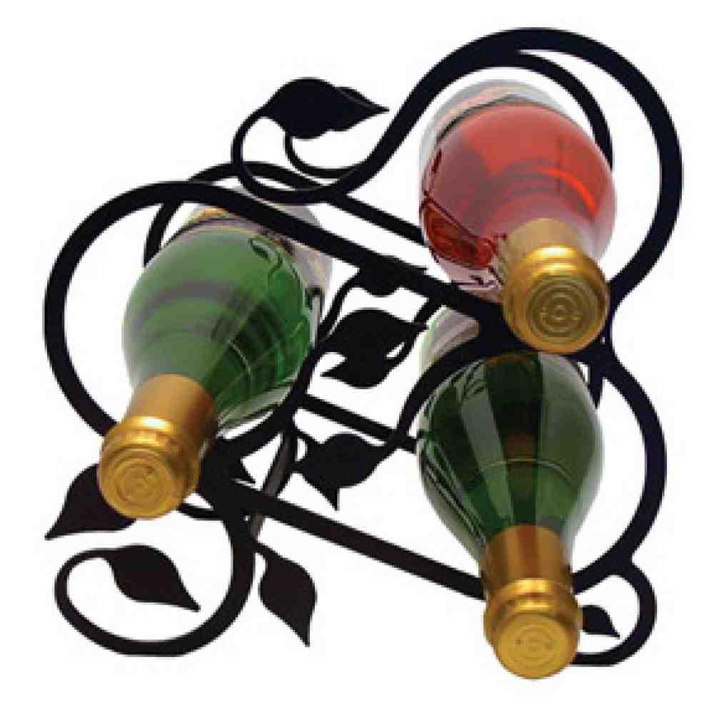 Iron Wall Wine Rack