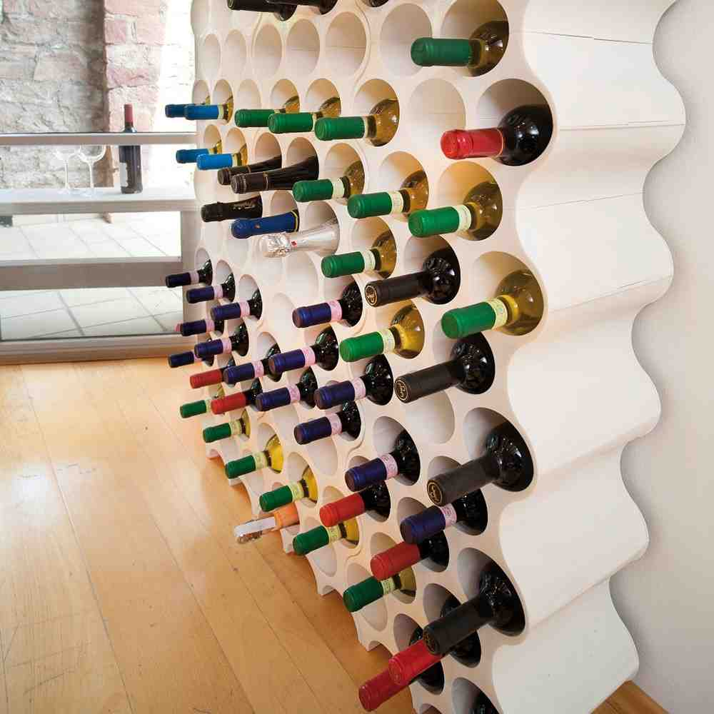 Modern Wall Wine Rack