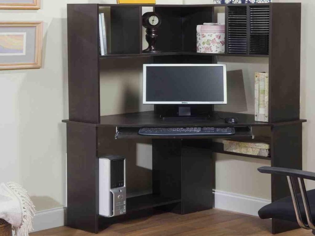 Morgan Corner Computer Desk And Hutch