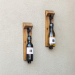 Rustic Wall Wine Rack