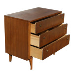 Solid Wood File Cabinet 2 Drawer