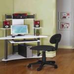 Tall Corner Computer Desk