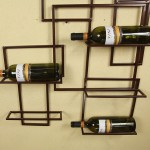 Wall Hanging Wine Glass Rack