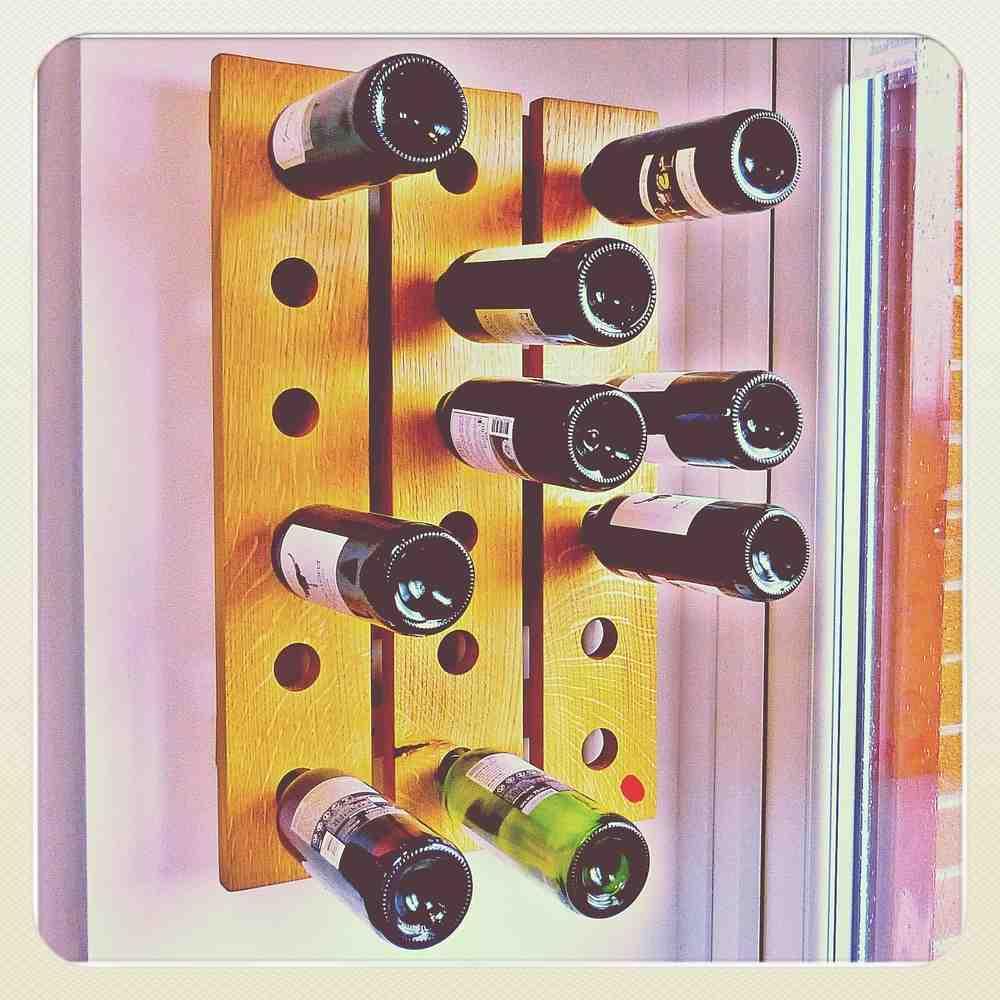 Wall Hung Wine Rack