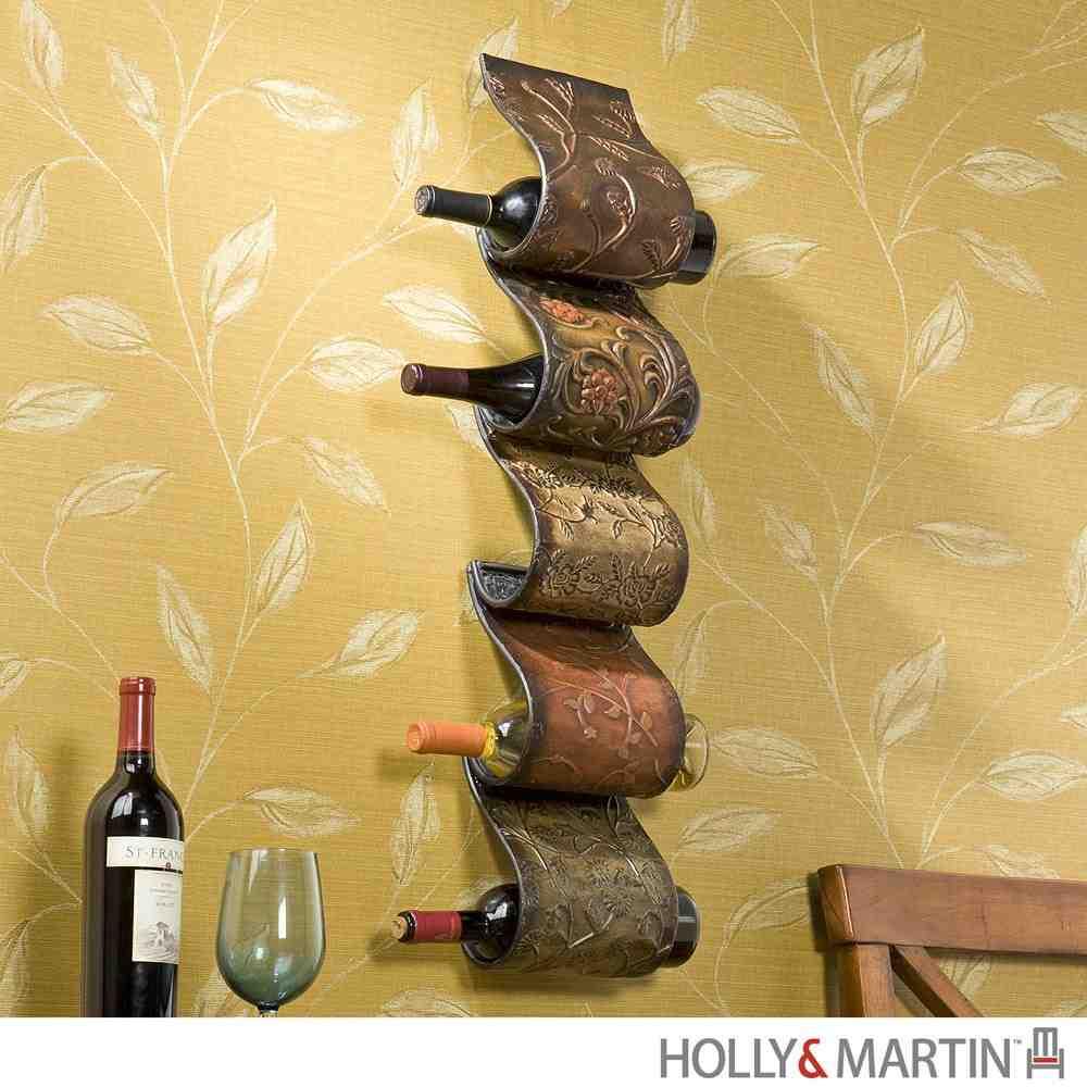 Wall Mount Wine Rack