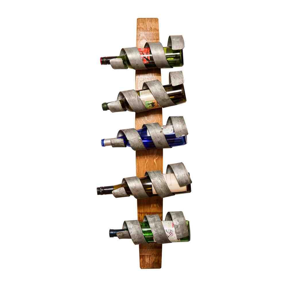 Wood Wall Wine Rack