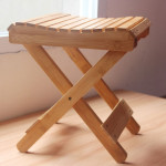 Wooden Step Stool Chair