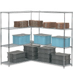 Industrial Wire Shelving