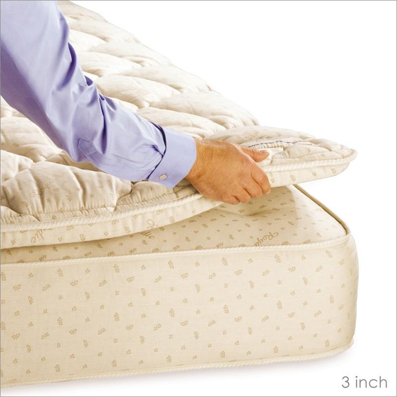 King Size Pillow Top Mattress Pad