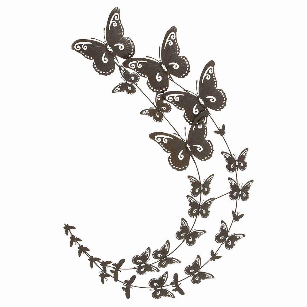 Metal Butterfly Wall Decor