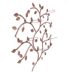 Metal Leaves Wall Decor
