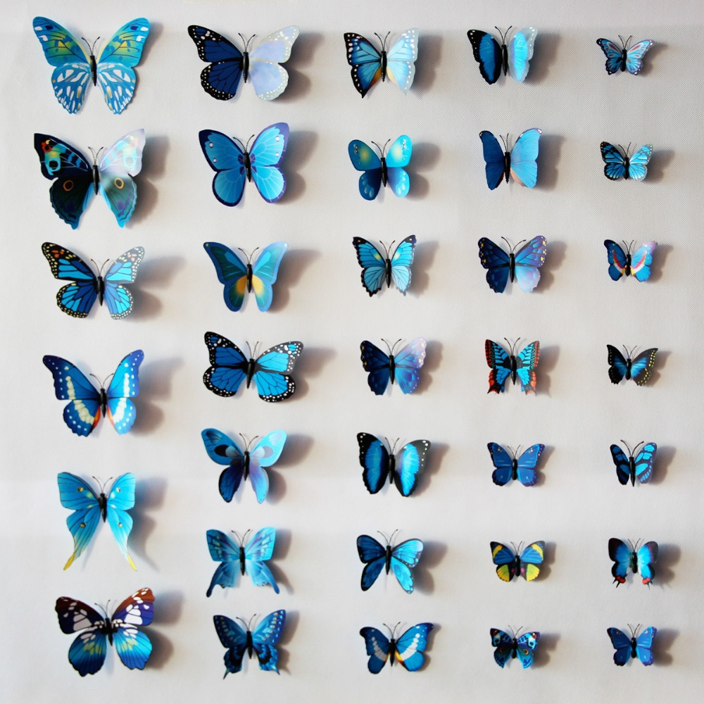 Nylon Butterfly Wall Decor