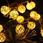 Outdoor Cafe String Lights