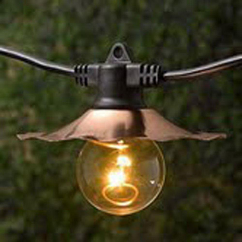 Vintage Outdoor String Lights
