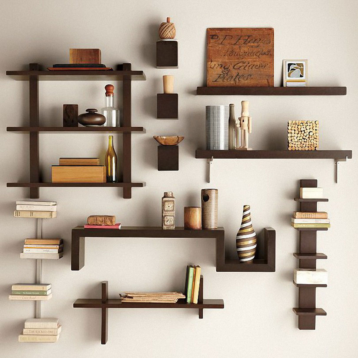 Wall Mounted Shelves