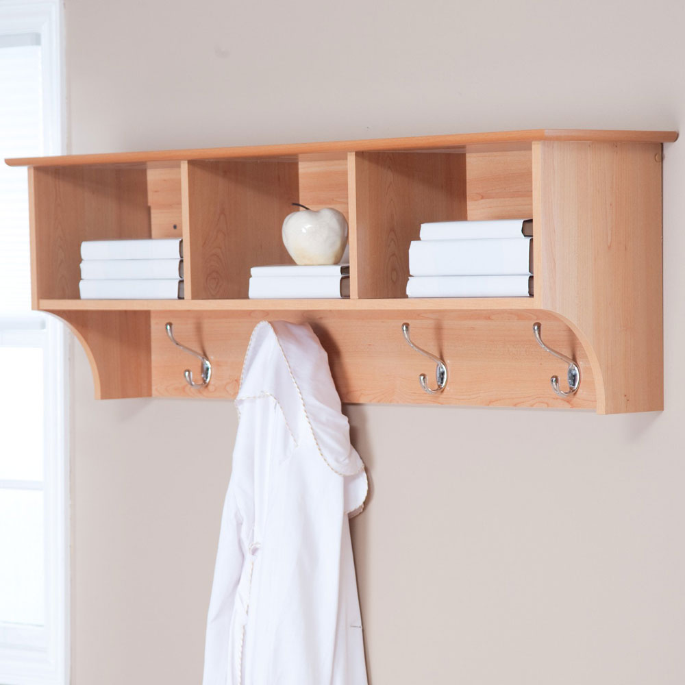Bathroom Wall Shelves Wood