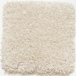 Cream Shag Area Rug