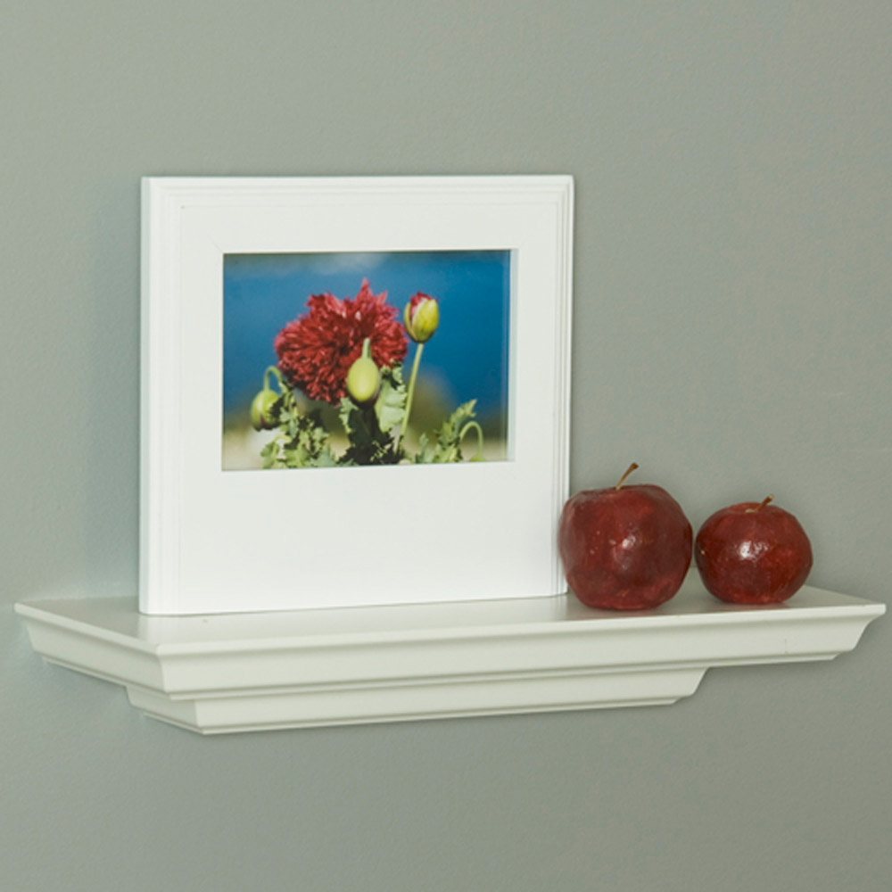 Floating Mantel Shelves