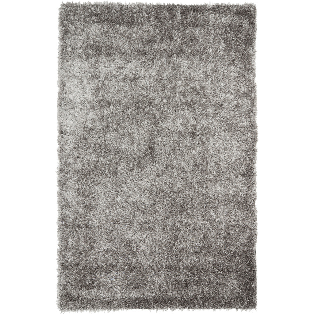 Gray Shag Area Rug