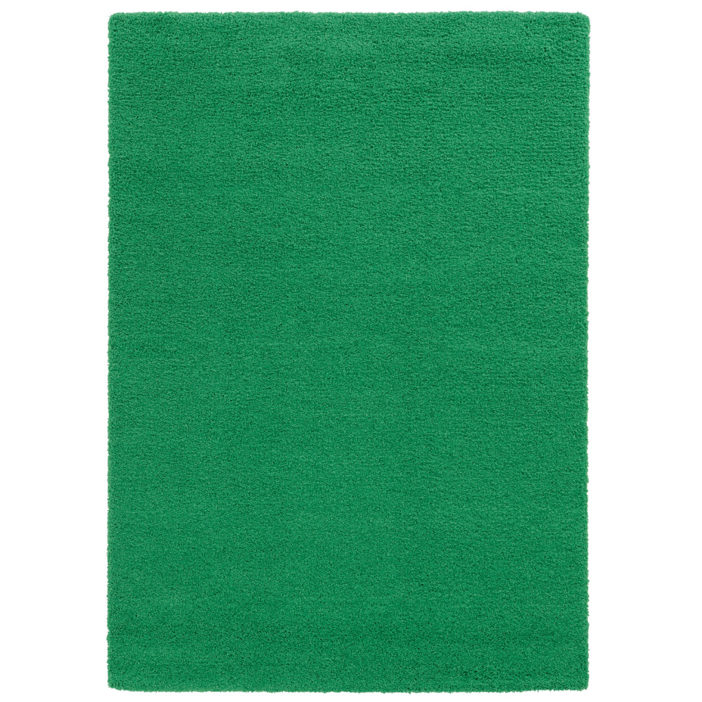 Green Shag Area Rug
