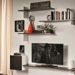 Tv Wall Shelves Wood