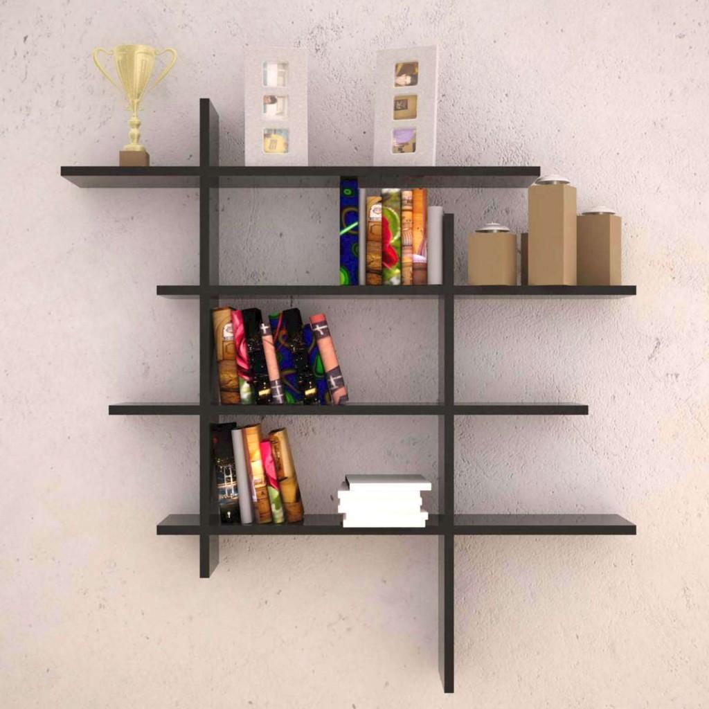 Wall Mount Wood Shelves