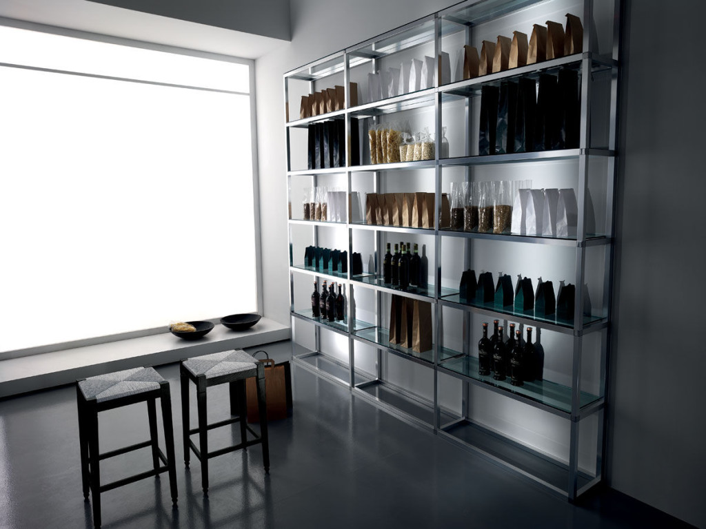 Wall Mounted Bar Shelves