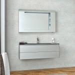 Wall Mounted Bathroom Shelves